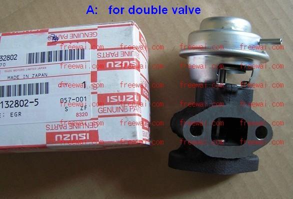 Fuel Water Separator Filter >> EGR valve for isuzu pickup suv TFR RODEO with 4JB1-T turbocharged diesel engine 2.8L [isuzu ...