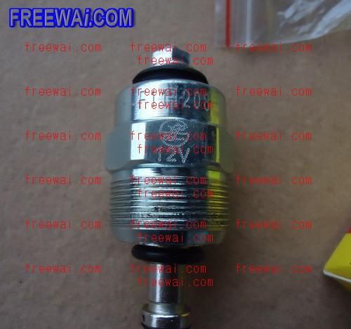 fuel pump solenoid valve  fuel in  for isuzu 4jb1 4ja1