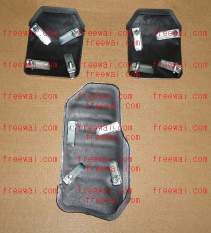 Auto Racing Blue Sports Pedals on Manual  Mt  Sports Racing Non Slip Pedal Pad Covers For Chery Qq Qq3