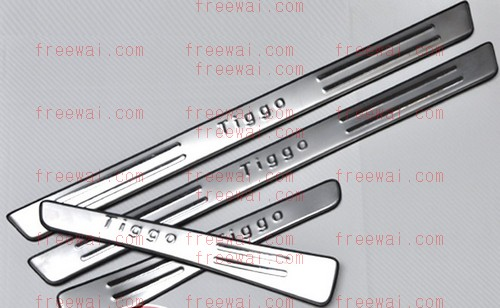 Stainless Side Step Bars For Chery QQ QQ3 Fulwin X1 Tiggo A3 A5 Chery