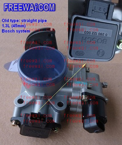 throttle body assembly for MR479 MR481 engine on Geely CK ...