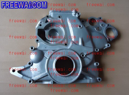 timing cover (timing gear case cover) for Mitsubishi diesel engine