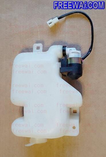 Washer Bottle With Pump Unit Windshield Wiper Fluid