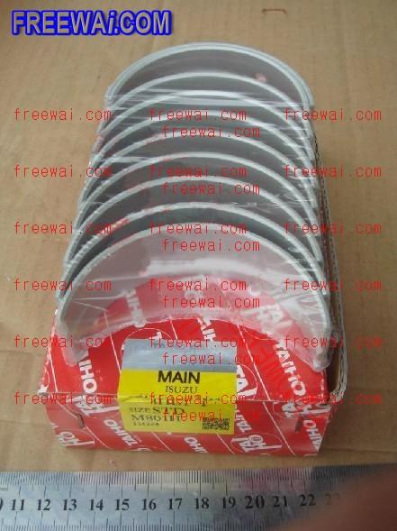 crankshaft main bearing set for isuzu 4he1t 4hf1 4hg1