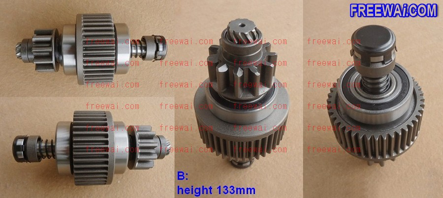 starter drive gear (clutch) for Isuzu 4HF1 4HG1 4HR1 engine