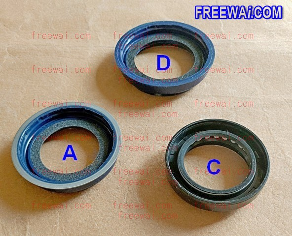 crankshaft front oil seal for Mitsubishi 4M40 4M51 diesel engine on