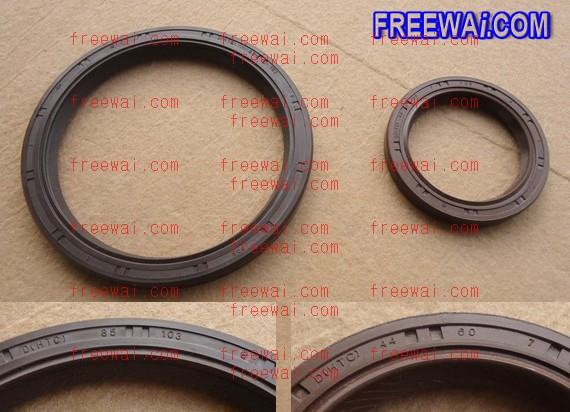 crankshaft front and rear oil seal for Mitsubishi 4G63 4G64