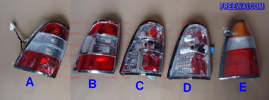 Rear Lamp Tail Light For Many Brands Of China Suv Pickup